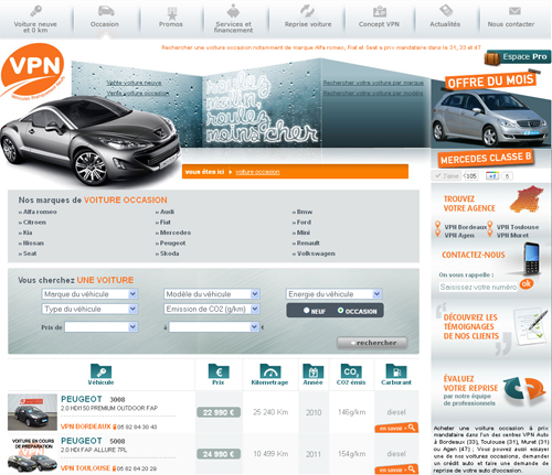 vpn vente voiture multimarques