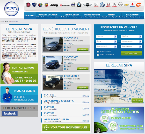 groupe automobile sipa
