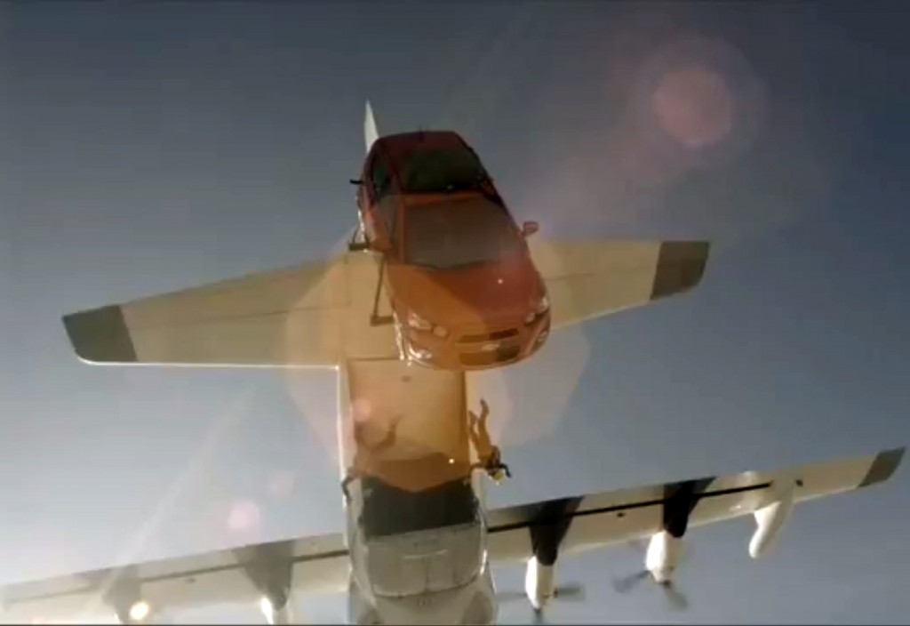 saut parachute chevrolet aveo sonic