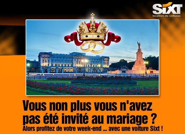 Sixt mariage angleterre