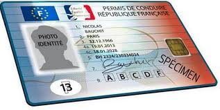 nouveau permis de conduire puce