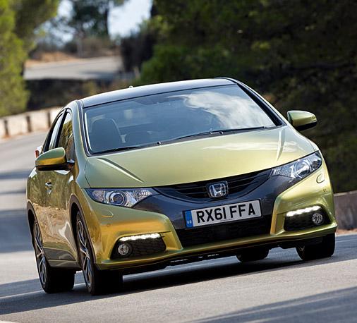 Nouvelle Honda civic 2012