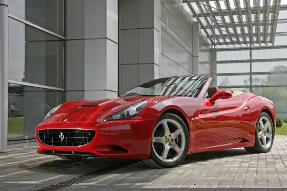 Ferrari rouge California