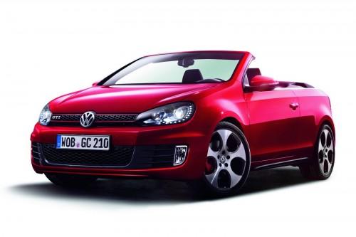 Volkswagen Golf GTI Cabriolet rouge