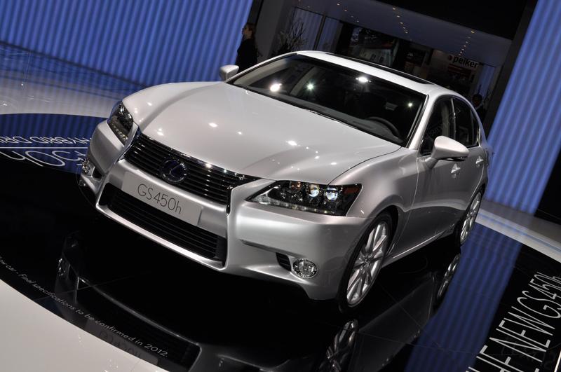 Nouvelle Lexus GS
