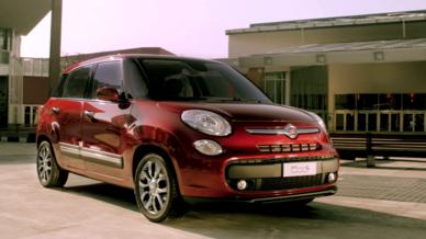 Fiat 500l 2012 rouge - blog auto
