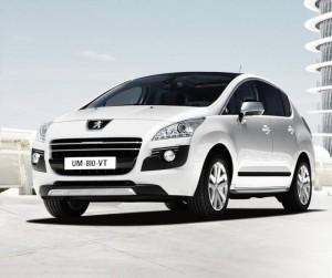 Peugeot 3008 Hybrid avant