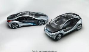 BMW i3 et i8 concept salon automobile de genève 2012