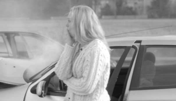 Sécurité routière manifeste des femmes