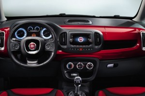 Image Fiat 500L interieur