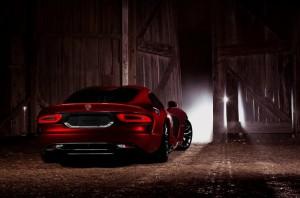 Viper SRT 2013 vue de l'arrière