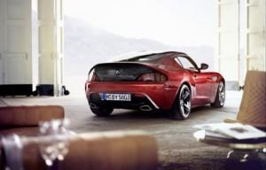BMW Z4 Zagato vue de dos