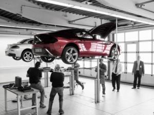 BMW Z4 Zagato atelier de montage