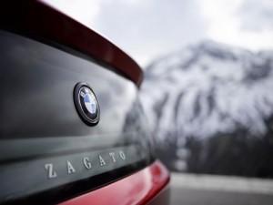 BMW Z4 Zagato logo arrière