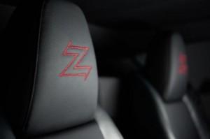 BMW Z4 Zagato logo fauteuille