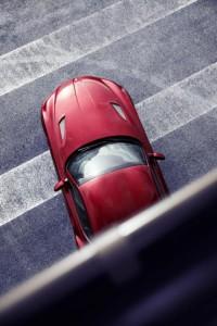 BMW Z4 Zagato vue de haut info auto