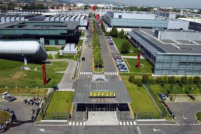 usine Ferrari Bologne