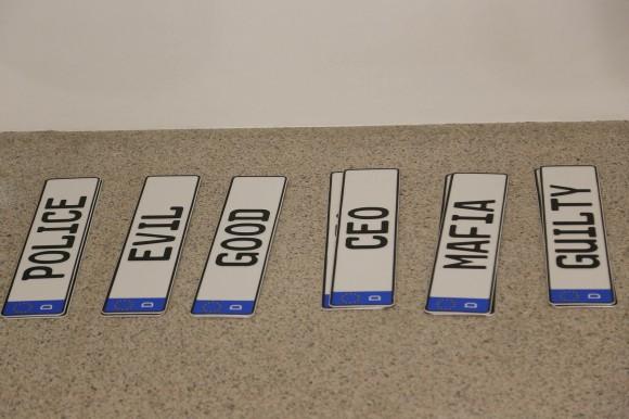 plaques immatriculation voitures kim dotcom