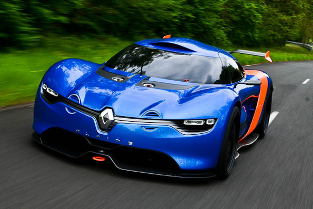 le concept car renault alpine a110 50 en vid o sur le blog auto. Black Bedroom Furniture Sets. Home Design Ideas