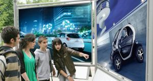 exposition Renault futuroscope