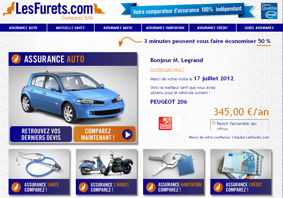 Fran ais et assurance automobile une tude riche d for Comparateur assurance garage