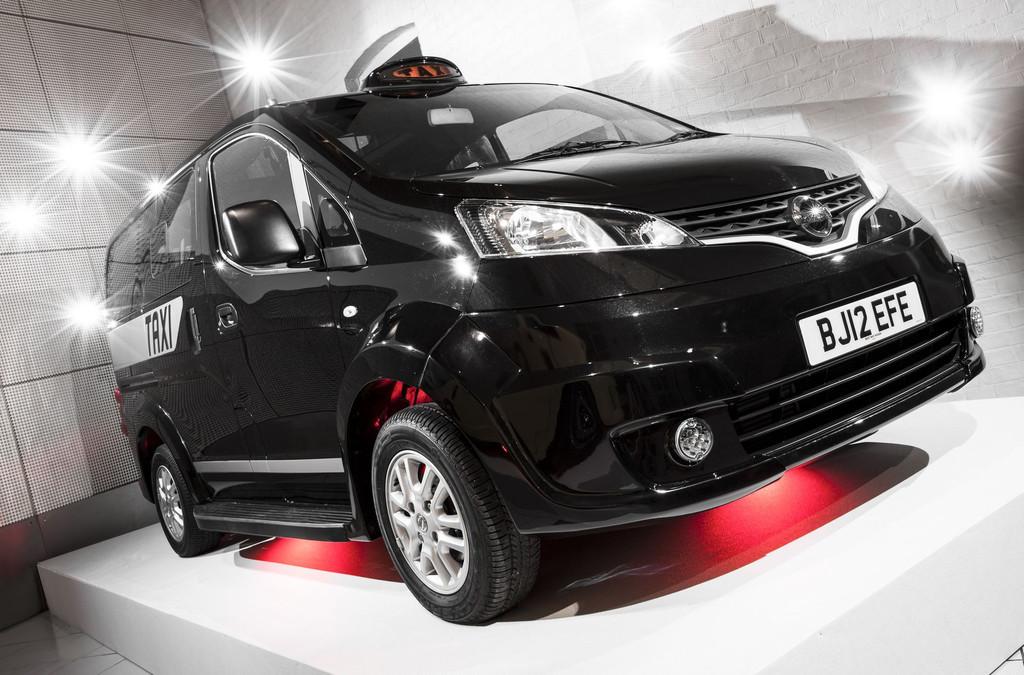 La Nissan NV200 qui pourrait être le nouveau taxi référence à Londres.