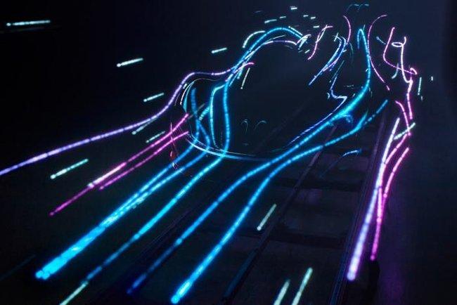 Teaser supercar Mc Laren Mondial Auto 2012