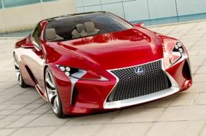 Lexus LF LC Concept Car 2012
