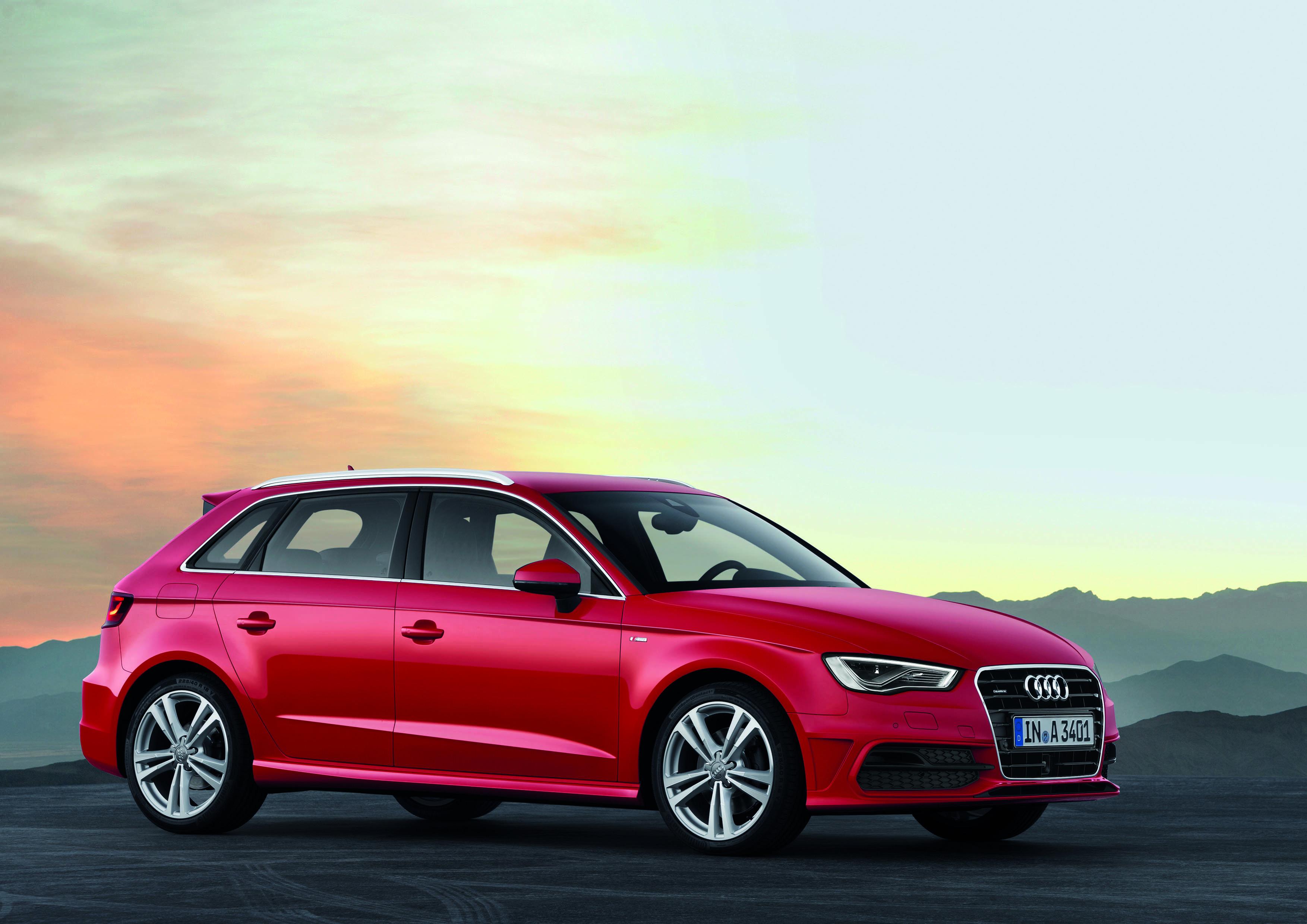 Nouvelle Audi A3 Sportback sera au Mondial de l'Automobile 2012