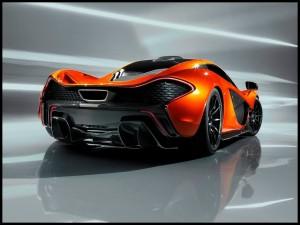 McLaren P1 Concept, héritière de la McLaren F1