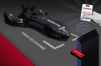 Au Mondial de l'Auto, vous pourrez partager vos expériences sur Facebook depuis le stand Nissan