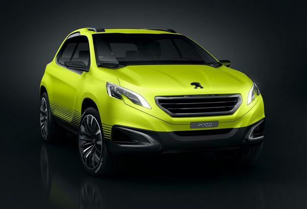 Peugeot 2008 Concept-Citadine-Tout terrain-