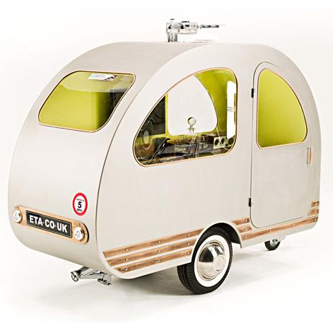 qtvan petite caravane  transport écologique