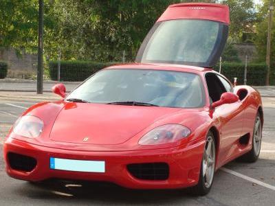 Fée-rarissime : exposition de Ferrari