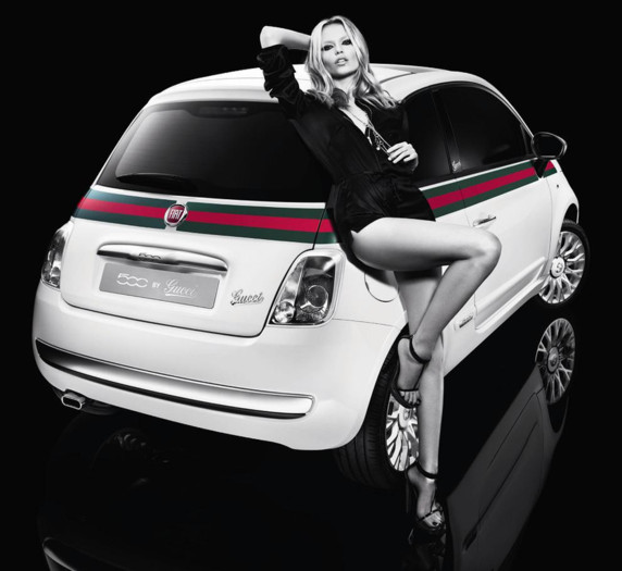 voiture fiat 500 gucci luxe natasha poly