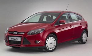 Ford Focus best seller 2012