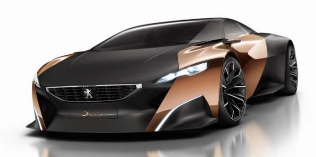 Peugeot Onyx : Mondial de l'auto 2012