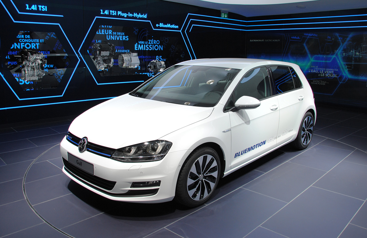 Nouvelle Volkswagen Golf 7 BlueMotion Concept