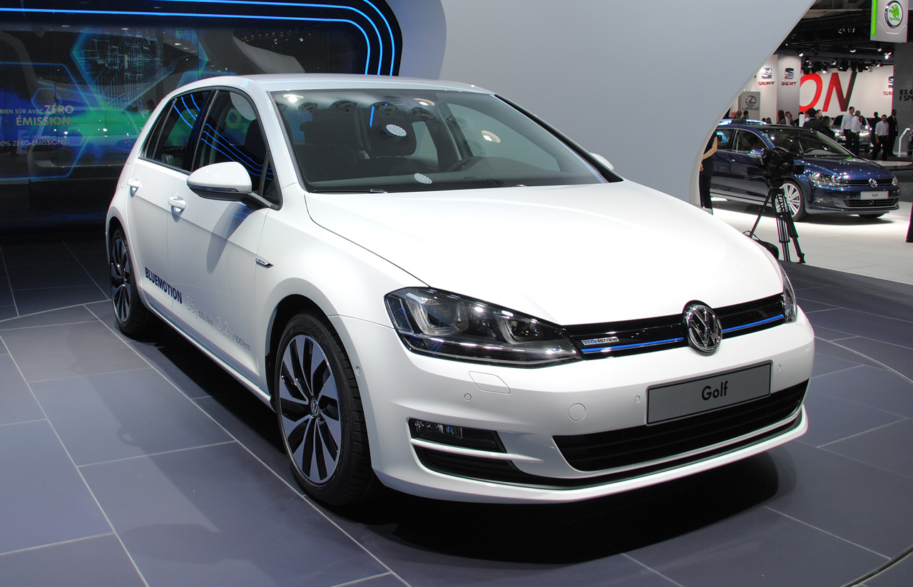 mondial auto paris 2012 volkswagen golf 7 bluemotion concept blog auto. Black Bedroom Furniture Sets. Home Design Ideas