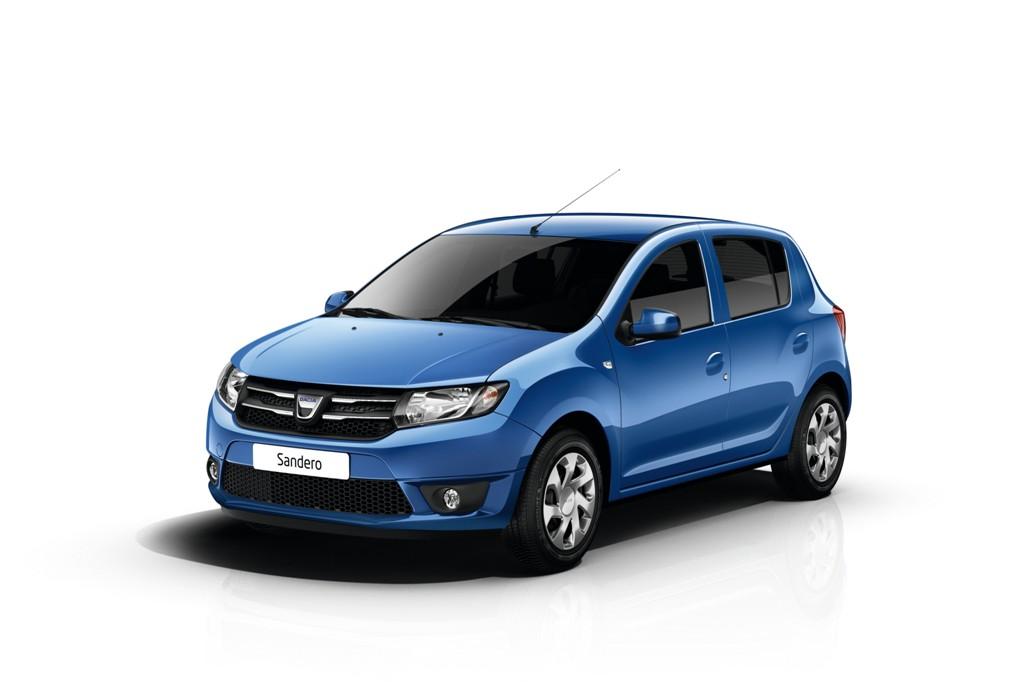 La nouvelle Dacia Sandero 2012