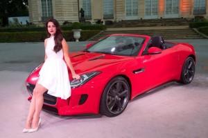 Jaguar F-Type avec Lana Del Rey