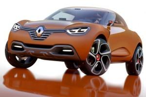 Renault Concept Captur Clio SUV Salon de Genève 2013