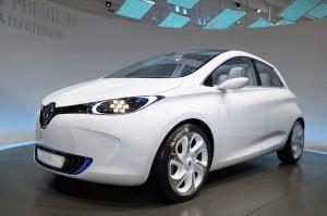 Renault Zoé electrique série 2012