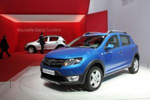 La nouvelle Dacia Sandero Stepway 2012
