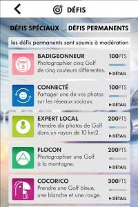 Application mobile Golfchallenge Golf 7 Iphone 5 a gagner