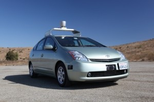 voiture sans chauffeur google self driving car