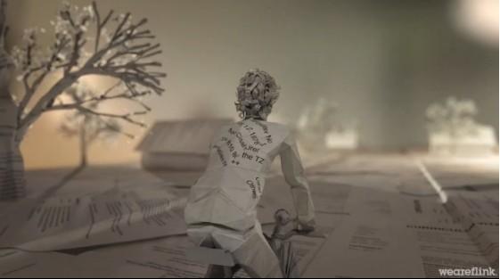 nouvelle vidéo skoda origami