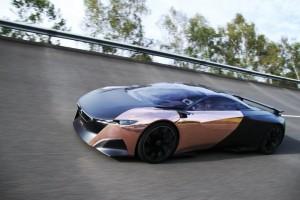 Peugeot Onyx Concept circuit 2012