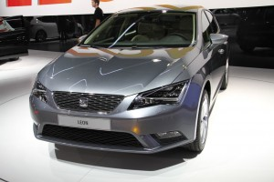 Nouvelle Seat Leon Mondial Auto 2012