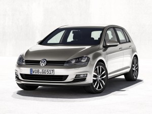 Nouvelle Volkswagen Golf 7 paris 2012